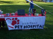 Heritage Pet Hospital outdoor table